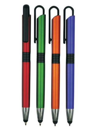 Popular Design Touch Screen Stylus Plastic Ball Pen for Writing