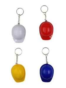 Promotional Customized Aluminum Safety Helmet Bottle Opener Keychain