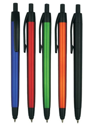 School Supply Plastic Stylus Ball Pen for Adversting