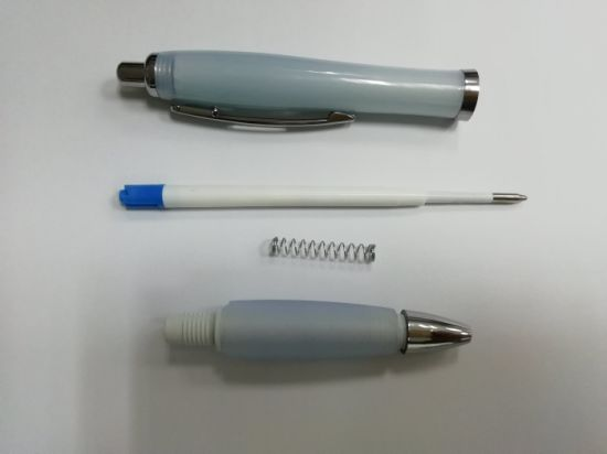 Popular Cheapest Plastic Ball Pen with Logo