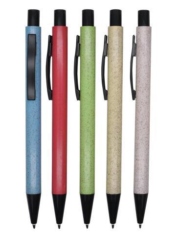 Metal Similar High Quality Plastic Ball Pen with Recycle Material
