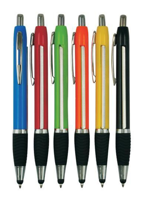 Promotional Plastic Banner Ball Pen with Touch Screen