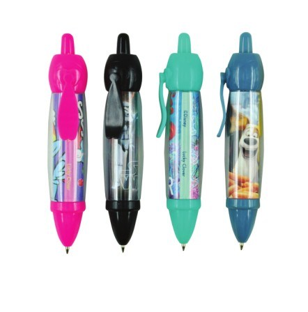 Mini Plastic Ball Pen with Customized Logo
