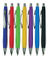 Rubber Finish Click Plastic Ball Pen for Promotion Gift