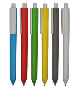 Plastic Triangle Ball Pen with Logo Imprinting for Gift
